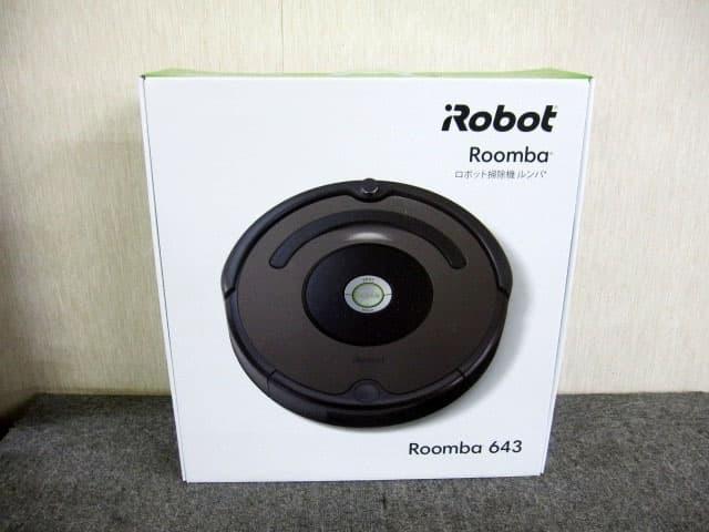 東京都 小平市にて アイロボット ロボット掃除機 ルンバ643 を店頭買取しました