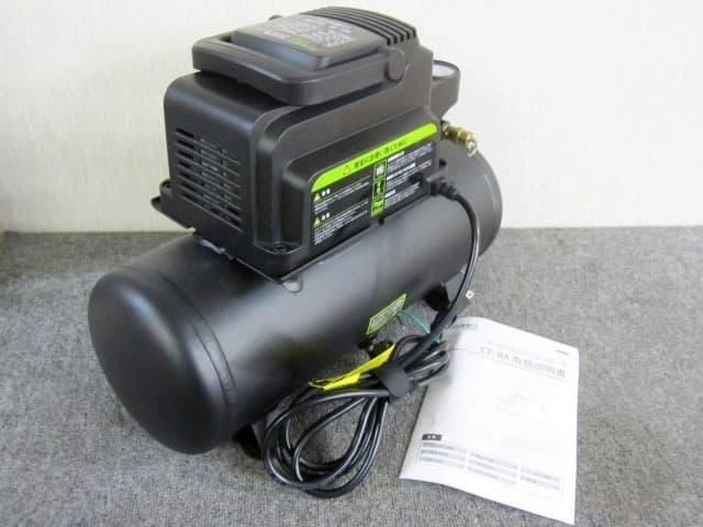 東京都 八王子市にて ミナトワークス オイルレス型エアーコンプレッサー CP-8A-V04 を店頭買取しました