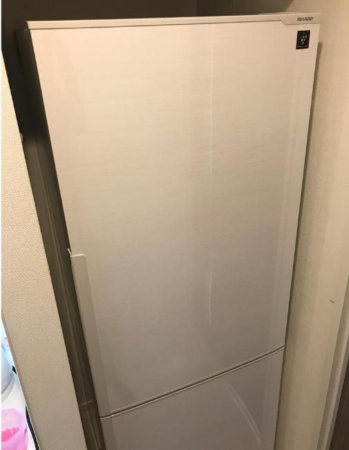 北区にて シャープ 冷蔵庫 SJ-PD27C 2017年製 を出張買取致しました