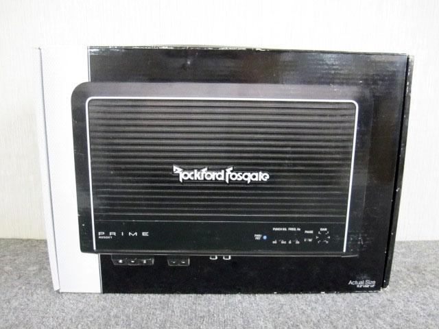 世田谷区にて ロックフォード アンプ PRIME R250X1  未使用品 を店頭買取しました。
