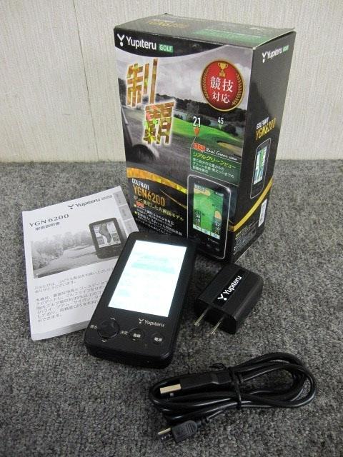 神奈川県 大和市にて ユピテル ゴルフ距離計測ナビ YGN6200 を店頭買取しました