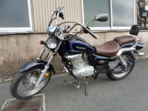 スズキ GZ125HS アメリカン 125cc