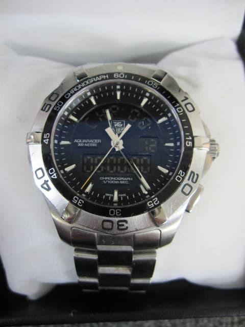 神奈川県 相模原市にて タグホイヤー アクアレーサー 腕時計 CAF1010-0 を店頭買取しました