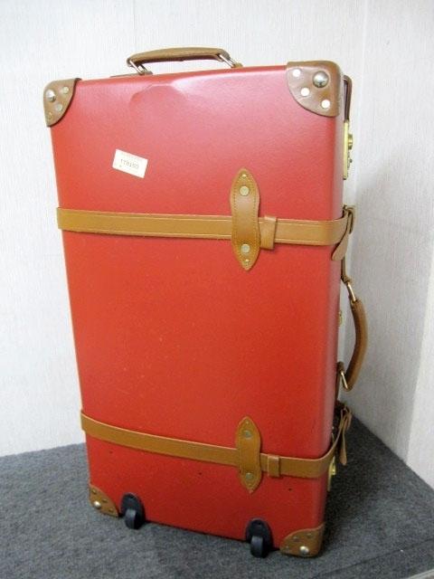 東京都 渋谷区にて グローブトロッター/GLOBE TROTTER 2輪 スーツケース を店頭買取しました