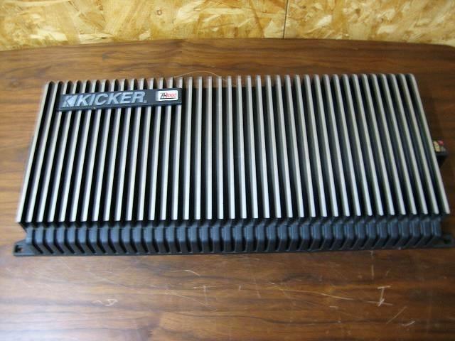日野市にて kicker(キッカー)パワーアンプ ZR1000 を出張買取しました。
