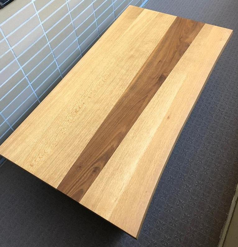日進木工 Carve WHITE WOOD ローテーブル