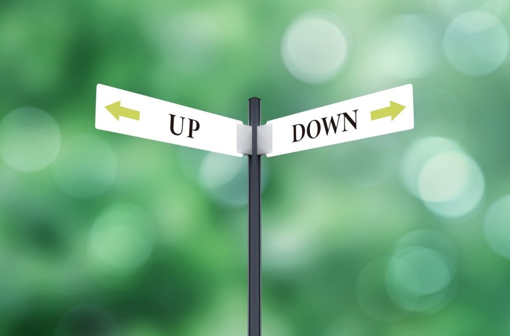 UPDWON標識