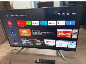 液晶テレビ ソニー KJ-43X8500F 2018年製