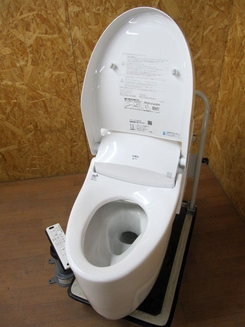 大和市にて リクシル 一体型トイレ DT-BL114G #NW1を店頭買取致しました