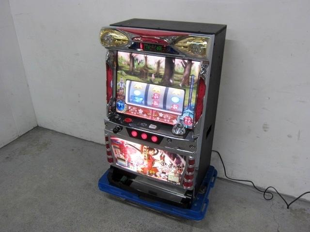 小平市にて ロデオ パチスロ実機 新鬼武者z 茜パネル コイン不要機付き を店頭買取しました