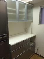 ニトリ ブルーモーション 食器棚