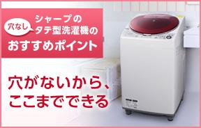 タテ式洗濯機プラズマクラスター