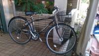 無料引き取りの自転車