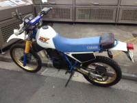 バイクの買取‐府中市にXT250T(YAMAHA)の出張買取へ