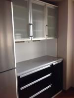 ニトリ レンジボード 食器棚