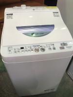 全自動洗濯機 ES-TG55L-A シャープ 買取