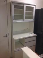 パモウナ レンジボード ブルモーション機能付き食器棚