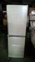 三菱 冷蔵庫 MR-C37R-W 2010年製