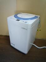 多摩市にて全自動洗濯機 【シャープ ES-GE70N】 を出張買取いたしました。