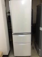 三菱 冷蔵庫 MR-C37R-W 2010年