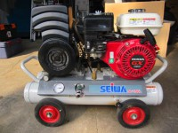 SEiWA セイワ ガソリンエンジン エアーコンプレッサー SC-15GL