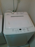 無印洗濯機 AQW-MJ45 2013年