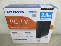IODATA 外付HDD HDCL-UT2.0KC 2TBUSB3.0