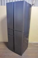 稲城市にて三菱の5ドア冷凍冷蔵庫【MR-A41T-UW】を出張買取いたしました。