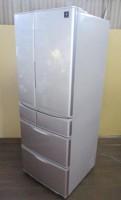 SHARP 501L フレンチ6ドア冷凍冷蔵庫 SJ-XF50X-S 13年製
