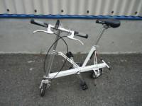 三鷹市にてPacificの折りたたみ自転車【キャリーミー】を出張買取いたしました。