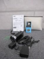 JVC ビクター Everio エブリオ GZ-E765-T ビデオカメラ