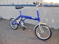 八王子市にてブリヂストンの折りたたみ自転車【SNEAKER LIGHT】を出張買取いたしました。