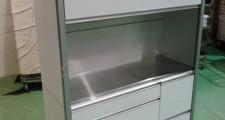 エコー 隠せる食器棚 レンジボード