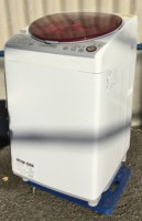 立川市にてシャープ製全自動洗濯機[ES-TX840-R]15年製を買取りました。