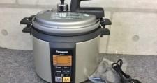 パナソニック 3.7L マイコン電気圧力鍋 なべ SR-P37 12年製