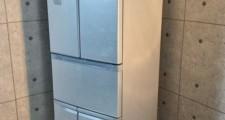 東芝 426L 6ドア冷凍冷蔵庫 GR-432FY(SS) 12年製
