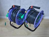 日動工業 100V 30m 電工ドラム NF-EB34 2台セット