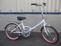 大和店にてプジョー折りたたみ自転車買取いたしました。