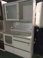 ユーアイ レンジボード 食器棚 ホワイト