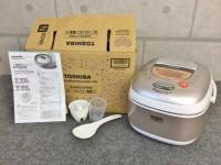 府中市にて東芝の炊飯器【RC-10VSD】を出張買取いたしました。