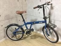 大和店にて折りたたみ自転車[Jeep]を買取いたしました。