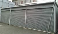 東村山市にてヨド物置3連ガレージを解体買取いたしました。