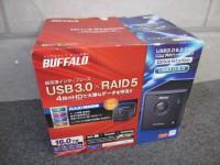 未使用 BUFFALO 外付けHDD 16TB HD-QL16TU3R