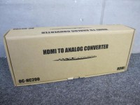 未使用 OCTA HDMIビデオアナログコンバーター OC-HC200