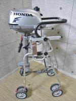 横須賀市にてホンダ船外機2馬力4スト出張買取いたしました。