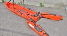 FREEDOM HAWK 12 フィッシングカヤック HONDEX 魚探 HE-51C付