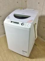 東芝 ZABOON 8.0kg 全自動洗濯乾燥機 AW-80SVM 13年製