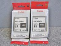 Canon 純正インクタンク PFI-102MBK マットブラック 2個