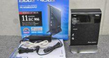 NEC PA-WG1800HP2 Aterm 11ac対応 無線LANルーター