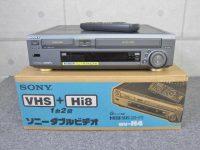 SONY ダブルビデオデッキ WV-H4 リモコン付